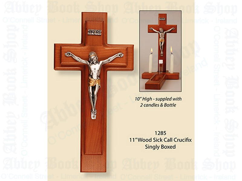 Sick Call Set – Wood Crucifix
