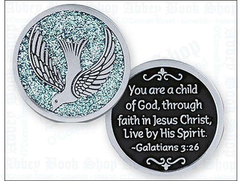 Pocket Token/Enamelled/Holy Spirit