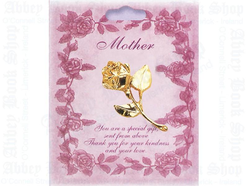 Brooch/Mother/Rose