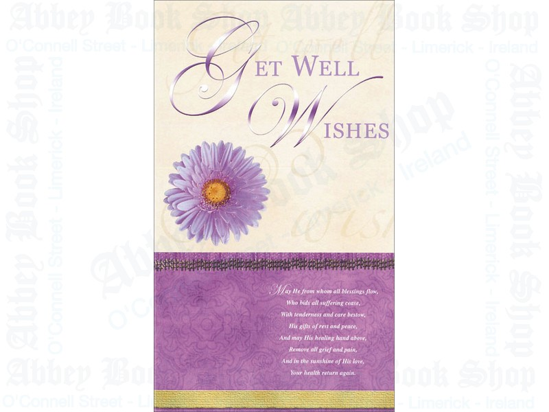 Get Well Wishes Card
