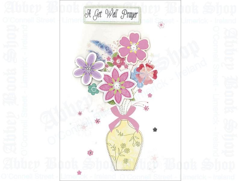 Get Well Prayer Card/3 Dimensional