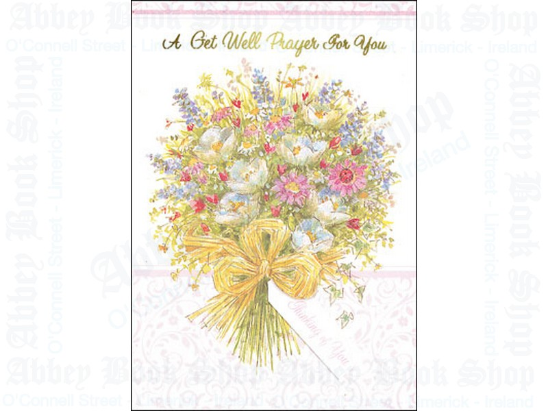 Get Well Prayer Card/Parchment