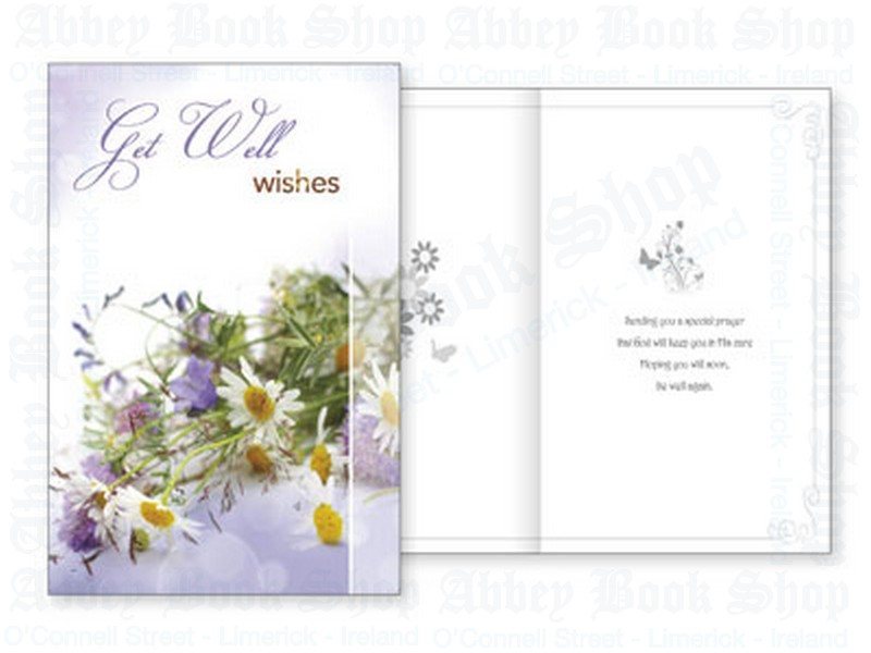 Get Well Wishes Card With Insert