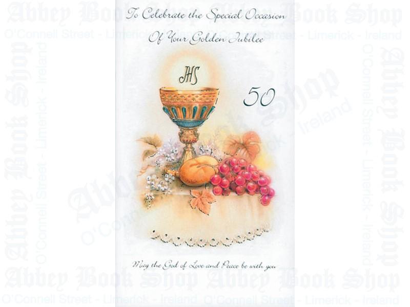 Golden Jubilee Card