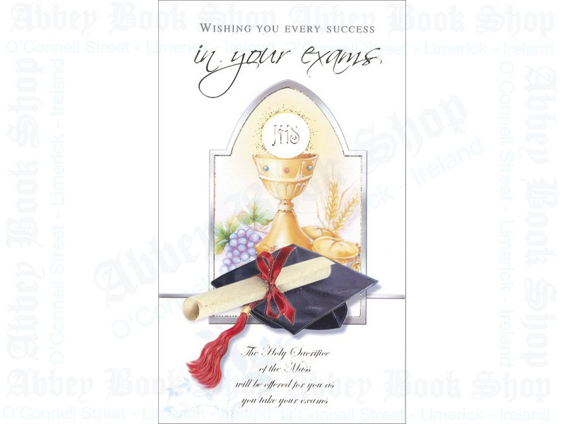 Mass For Success in Your Exams Card
