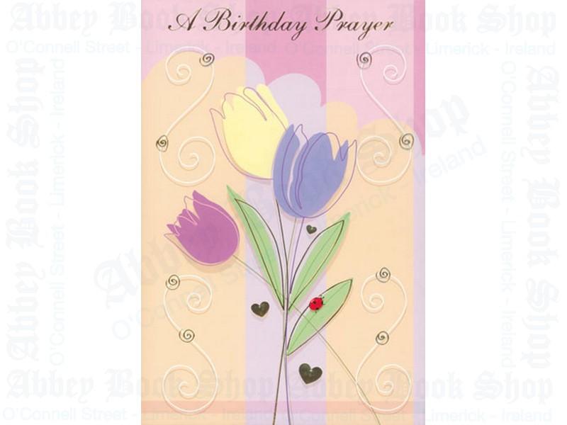 A Birthday Prayer Card