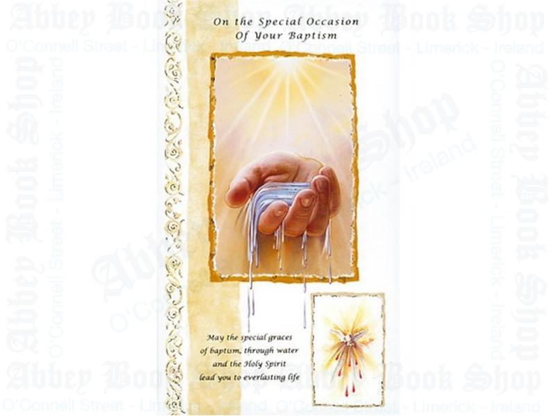 Baptism Card – Adult