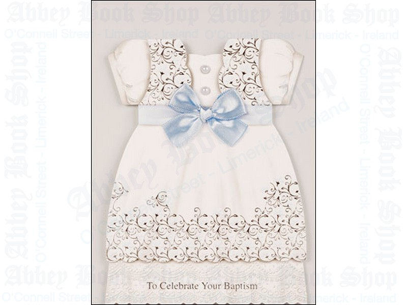 Baby Baptism – Boy Card