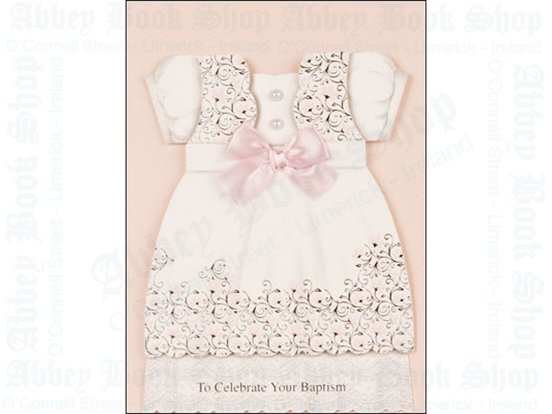 Baby Baptism – Girl  Card