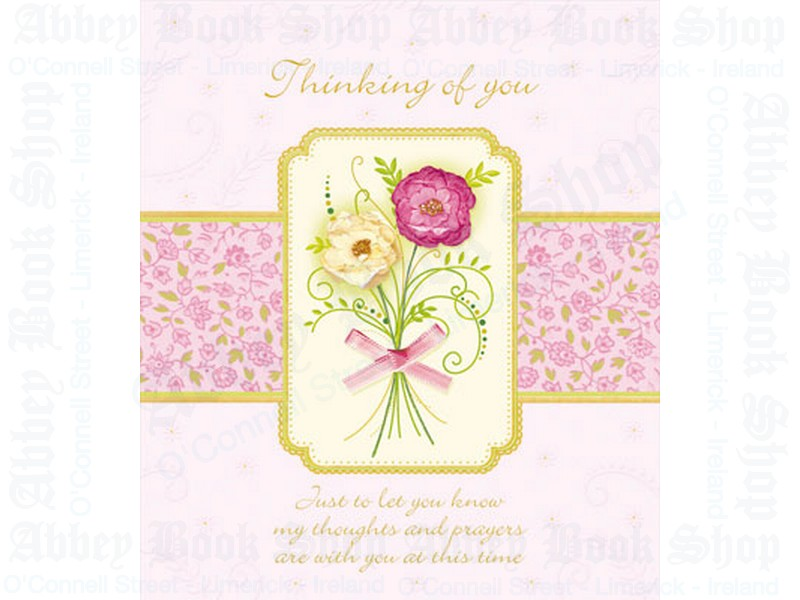 Thinking of You – Hand Crafted Card