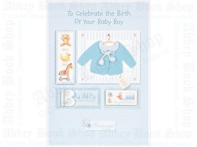 Baby Congratulations – Boy Card