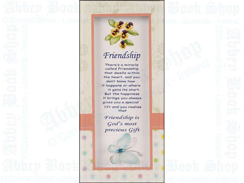 Glass Plaque – Friendship/Motif