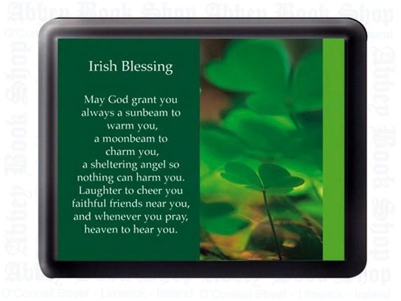 Irish Blessing – Fridge Magnet