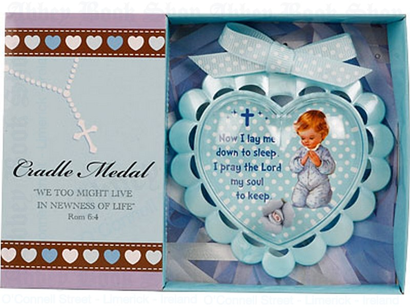 Baby Medallion – Boy With Ribbon
