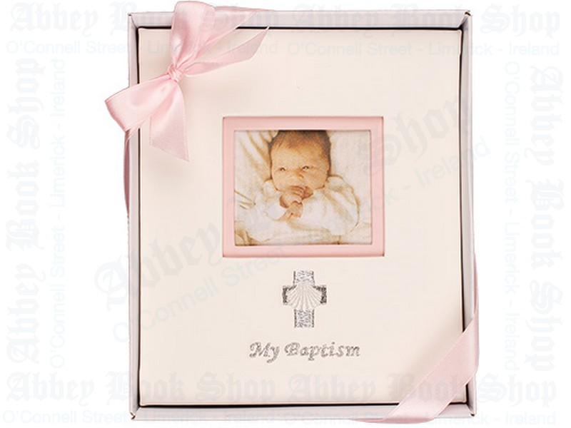 Embroidered Photo Album/My Baptism/Girl