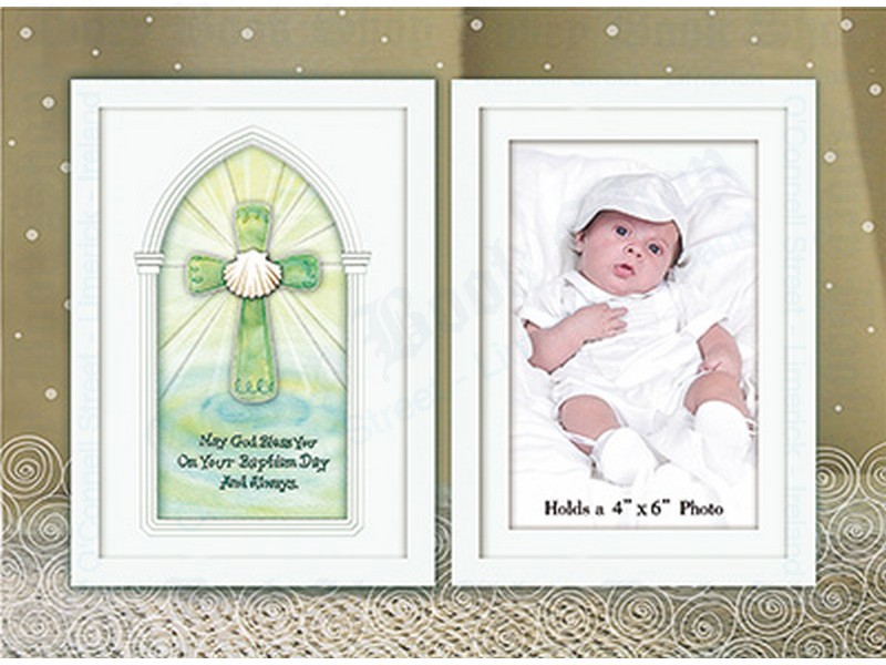 Glass Photo Frame – Baby – Baptism