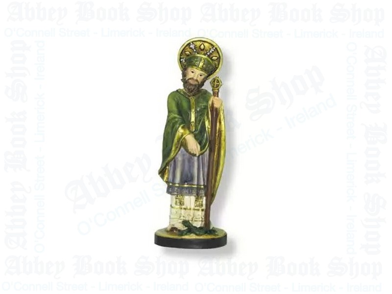 Saint Patrick Statue – Resin 5″