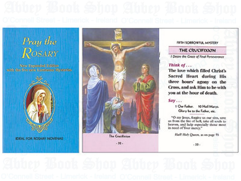 Pray the Rosary Booklet – Paperback