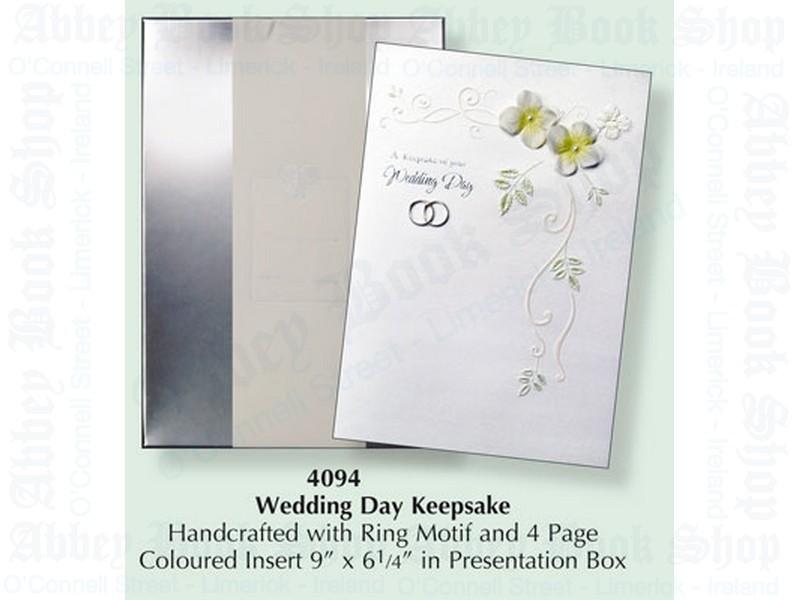 Wedding Keepsake Booklet