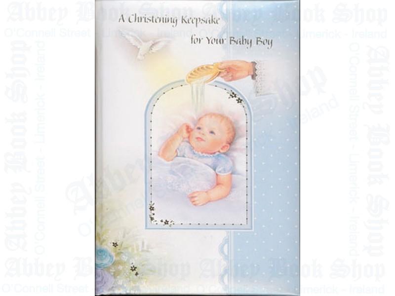 "Christening Keepsake – ""Boy"""