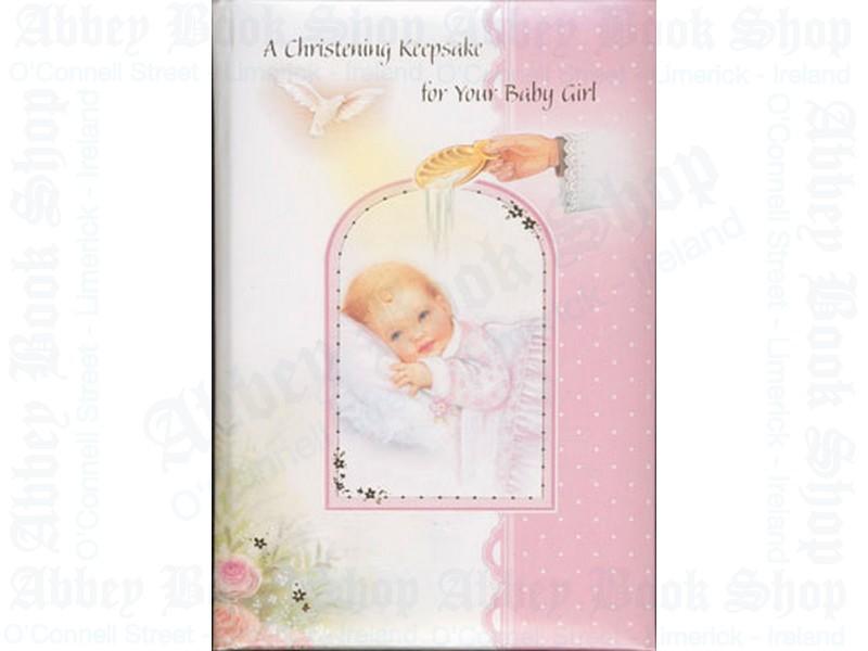 """Christening Keepsake – """"Girl"""""""