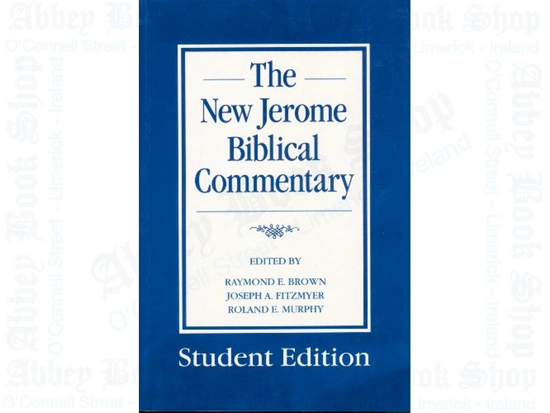 New Jerome Biblical Commentary: Study Hardback Edition