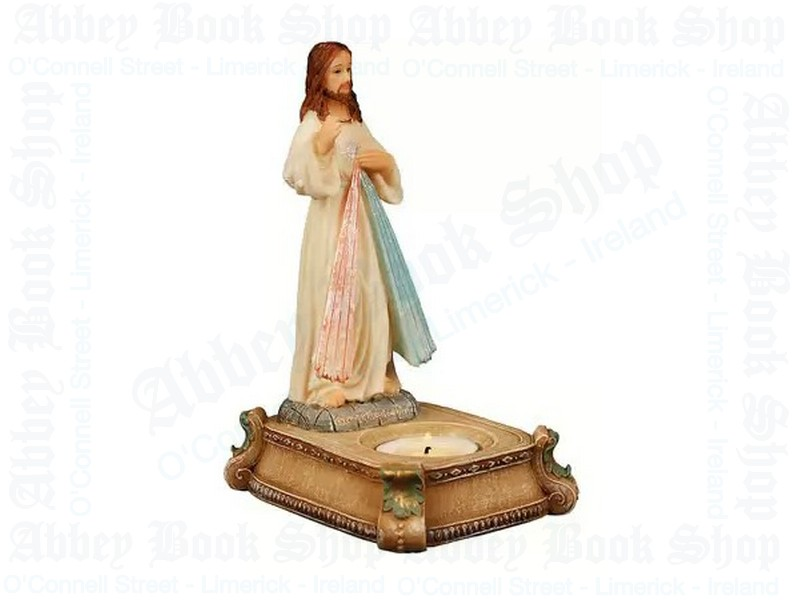 Divine Mercy Candle Holder – Resin