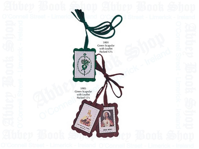 Green Scapular With Leaflet