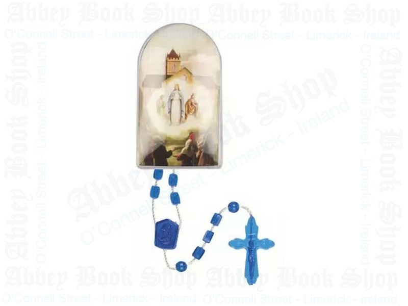 Our Lady of Knock Rosary Beads – Plastic Corded