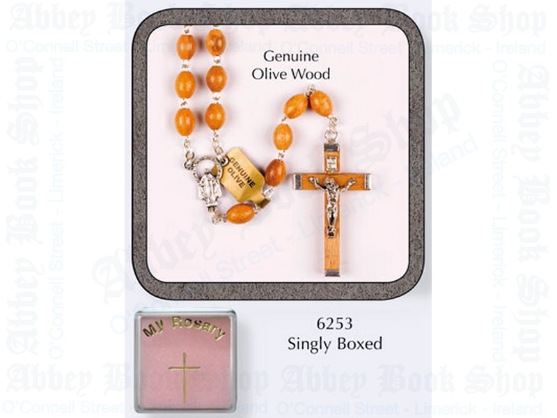 My Rosary Beads – Olive Wood