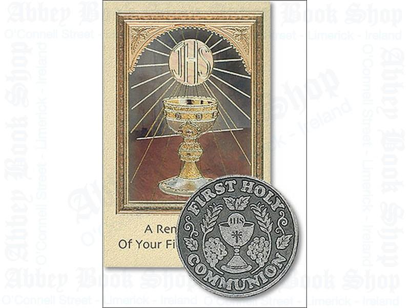 First Communion Pocket Token/Booklet