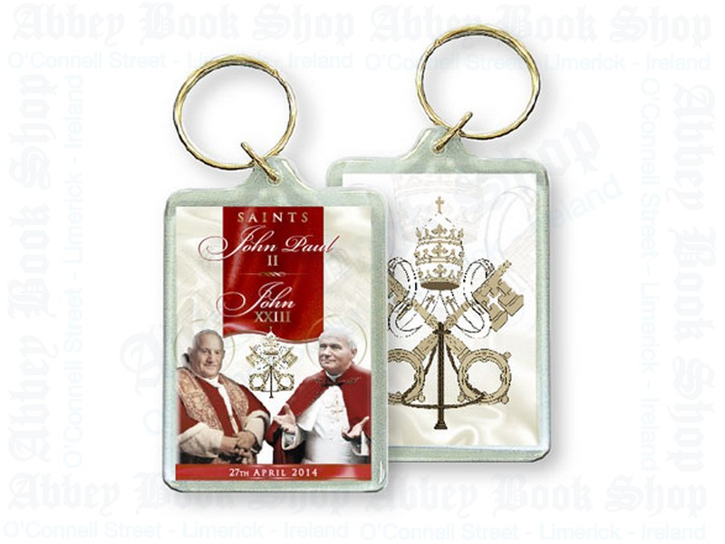 Key Chain – Pope John & Pope John Paul