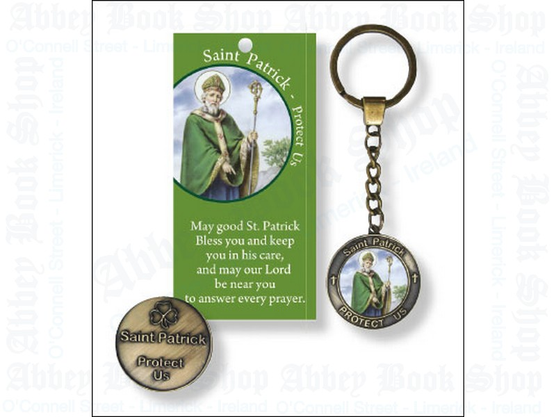 Key Ring/Leaflet/Saint Patrick