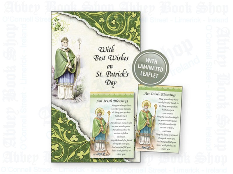 Saint Patrick's Day Card – Leaflet