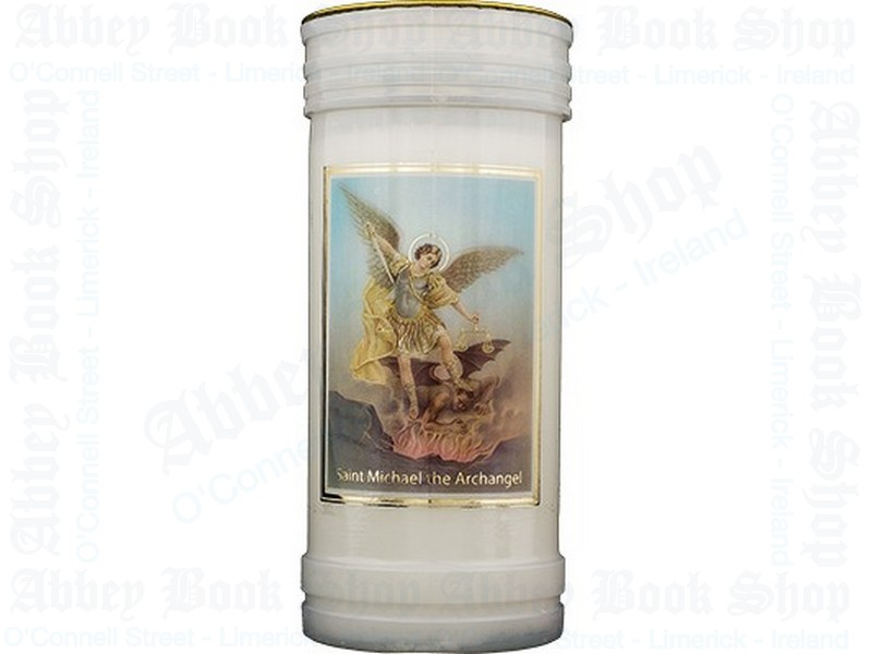 Pillar Candle – Saint Michael the Archangel