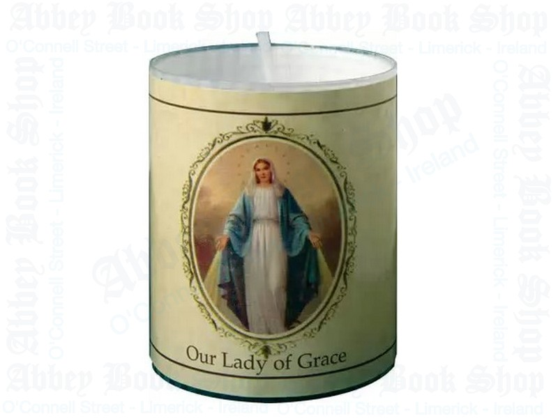 Miraculous (Our Lady of Grace) Votive Candle – 24 Hour