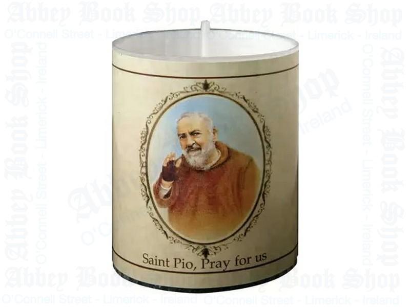 Saint Pio Votive Candle – 24 Hour