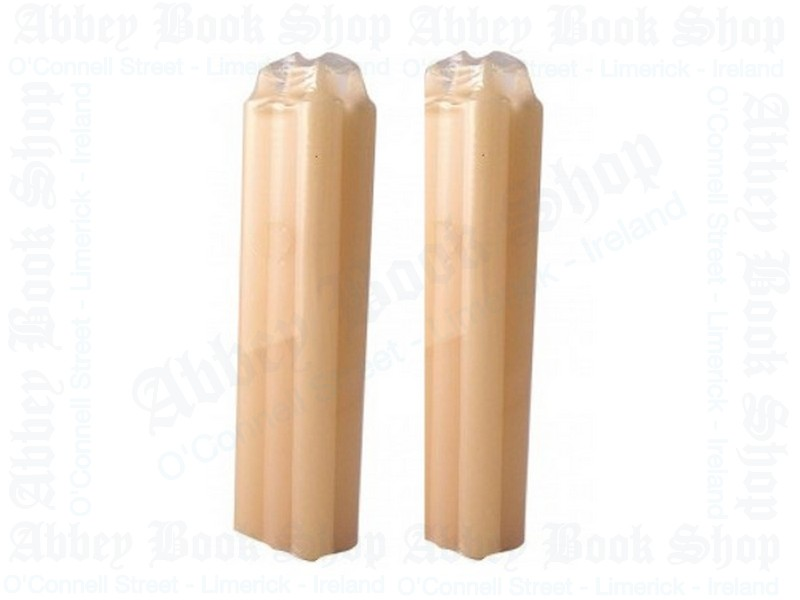 Beeswax Candles/9″ x 1 3/8″(Pack 12)