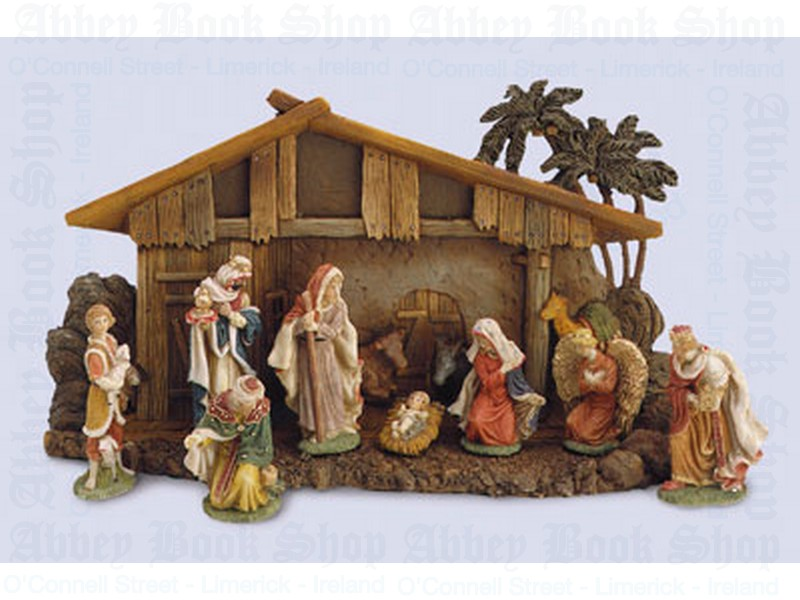 Nativity Set/11 Figures 4″