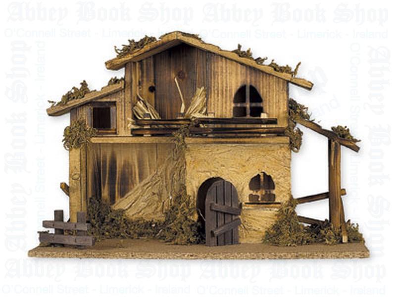Nativity Shed – No Figures