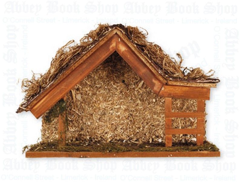Nativity Shed – No Figures