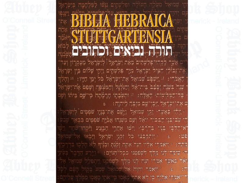 Biblia Hebraica Stuttgartensia Paperback