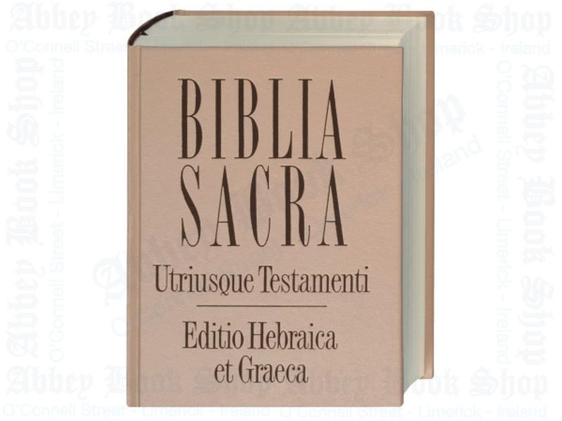 Biblia Sacra Utriusque Testamenti: Editio Hebraica et Graeca