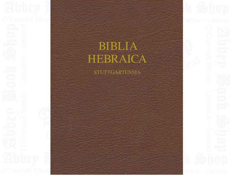 Biblia Hebraica Stuttgartensia Wide Margin Edition