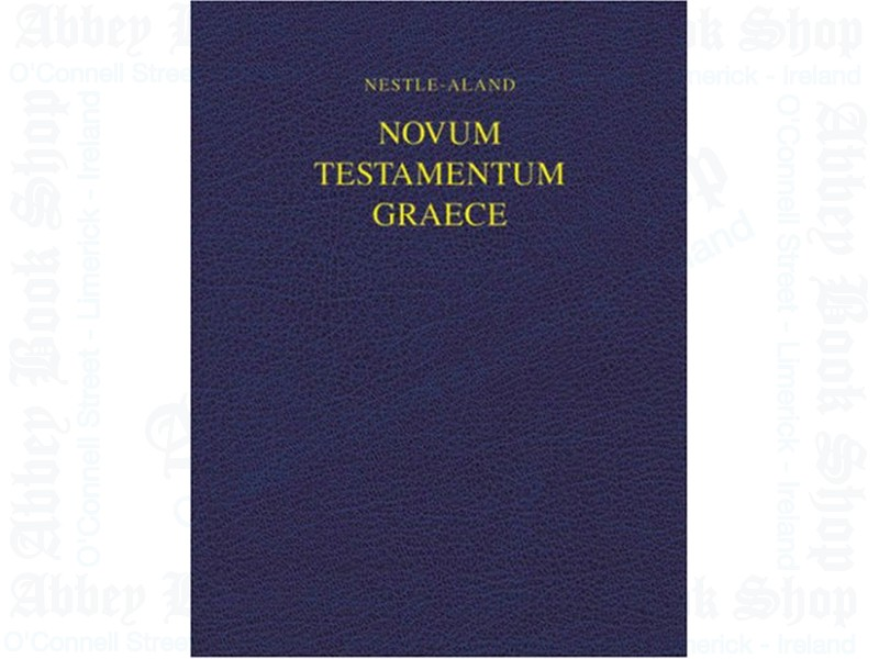 Nestle Aland Novum NA27 Testamentum Wide Margin Edition