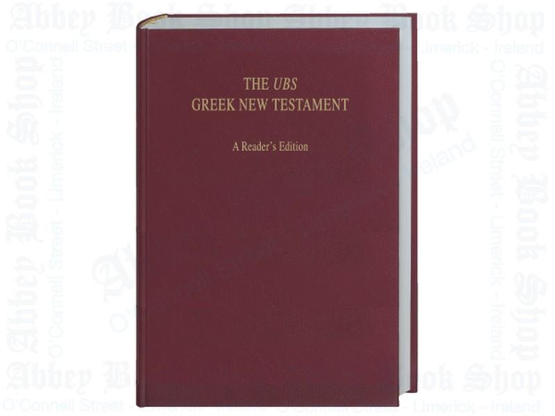 UBS Greek New Testament: A Reader's Edition
