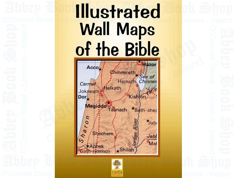 Illustrated Wall Maps of Bible and Atlas of the Bible