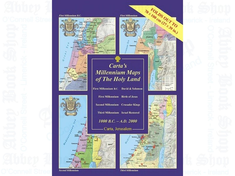 Millennium Maps of the Holy Land: 1000 BC – AD 2000