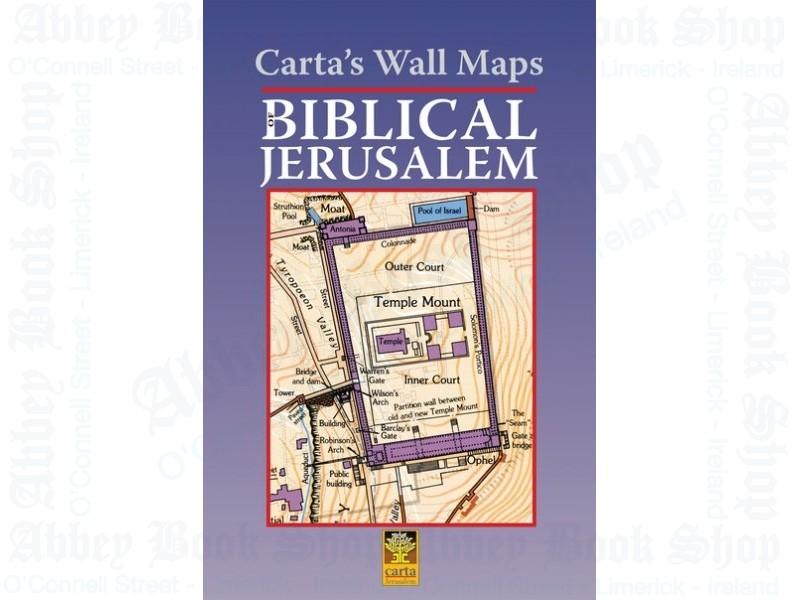 Biblical Jerusalem: Carta's Wall Maps