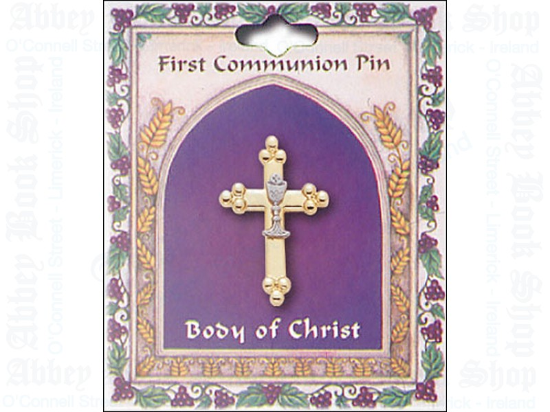 Communion Brooch/Cross & Chalice